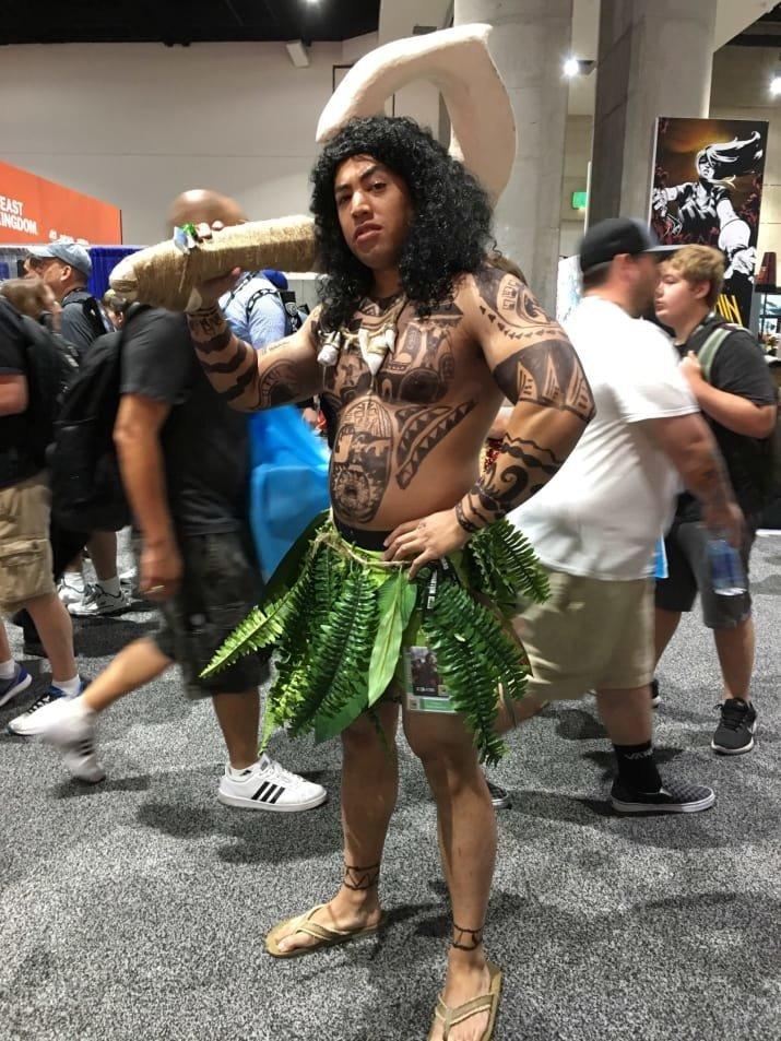11. Мауи comic-con, Фестиваль, в мире, комик кон, костюмы, лучшее, наряды, фэнтези