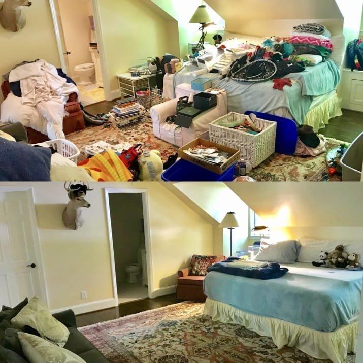 Волшебное преображение спальни блеск и уют, вдохновляюще, дом, домашние заботы, уборка, хозяйство, чистота в доме, чистые картинки