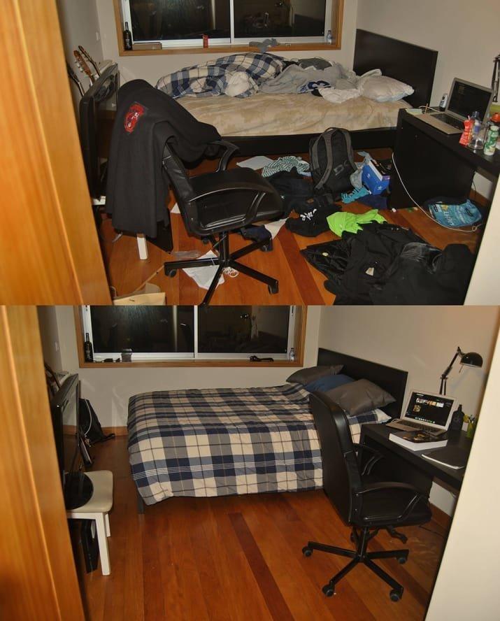 Теперь в этой комнате можно начинать новую жизнь! блеск и уют, вдохновляюще, дом, домашние заботы, уборка, хозяйство, чистота в доме, чистые картинки