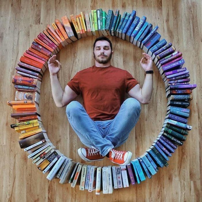 23. арт-проект, инстаграмм, книга, книги, книжный червь, композиция, красота, чтение