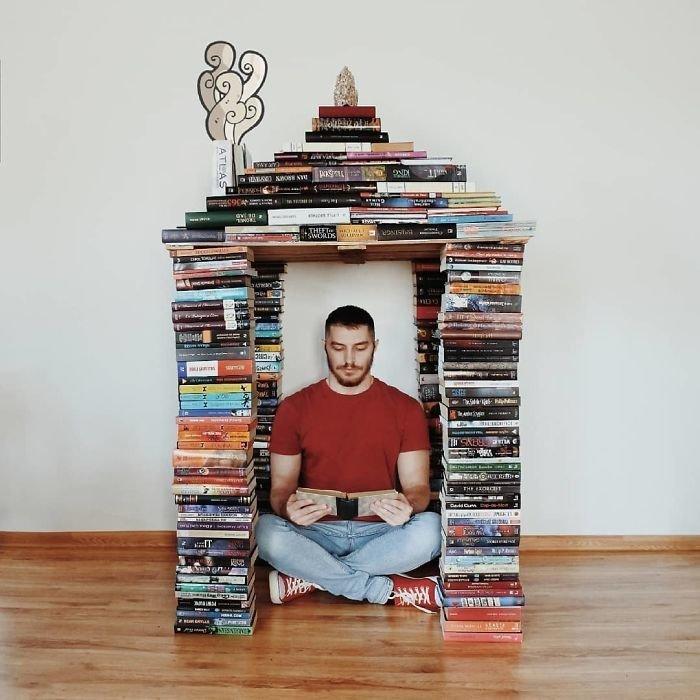 21. арт-проект, инстаграмм, книга, книги, книжный червь, композиция, красота, чтение
