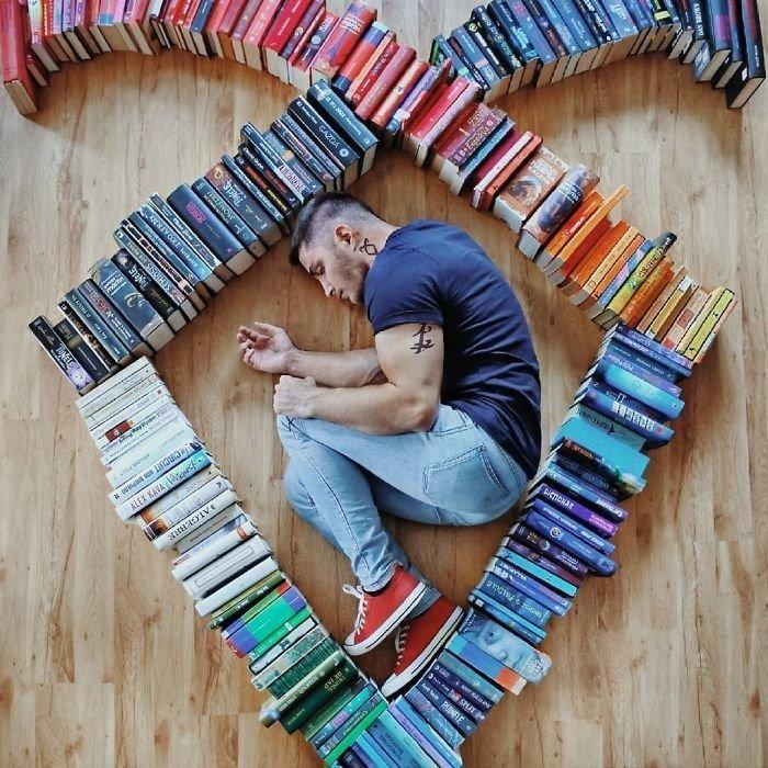 26. арт-проект, инстаграмм, книга, книги, книжный червь, композиция, красота, чтение