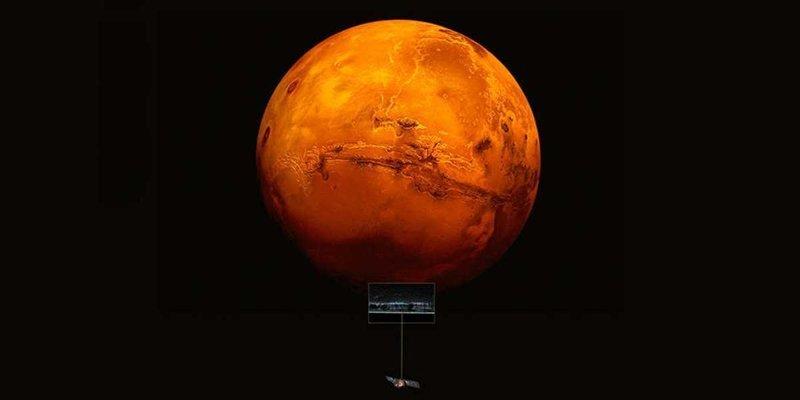 На Марсе обнаружили целое озеро жидкой воды вода, марс, наука, открытие, планета, ученые
