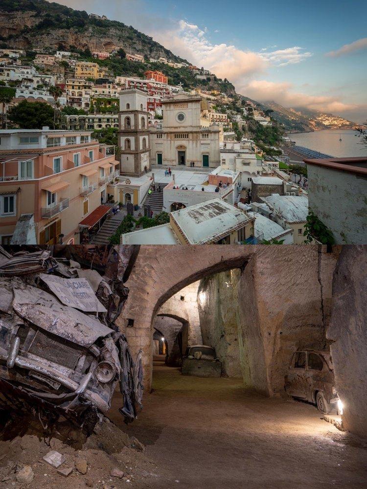 Италия: Туннель Бурбонов находится прямо под Неаполем в мире, достопримечательности, интересно, под землей, фото