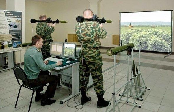 Обучение одновременно 2-х гранатометчиков РПГ-7В или огнеметчиков РПО-А навыкам боевой работы. вот это поворот, прикол, спорт, тренажёр, тренажёры