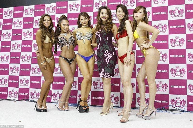 Что ж, удачи ей в Бразилии! конкурс красоты, мисс бум-бум, токио, фитнес бикини, фитнес девушки, шоу, ягодицы, япония