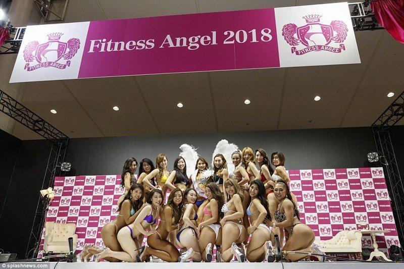 """Японцы выбрали свою участницу для конкурса красоты """"Мисс Бум-Бум"""" конкурс красоты, мисс бум-бум, токио, фитнес бикини, фитнес девушки, шоу, ягодицы, япония"""