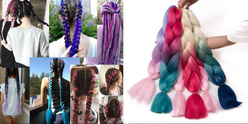 "<a href=""http://bit.ly/2NE05GI"">Цветные косички в модном тренде</a> aliexpress, акции, алиэкспресс, подарки, покупки, развлечения, скидки, техника"