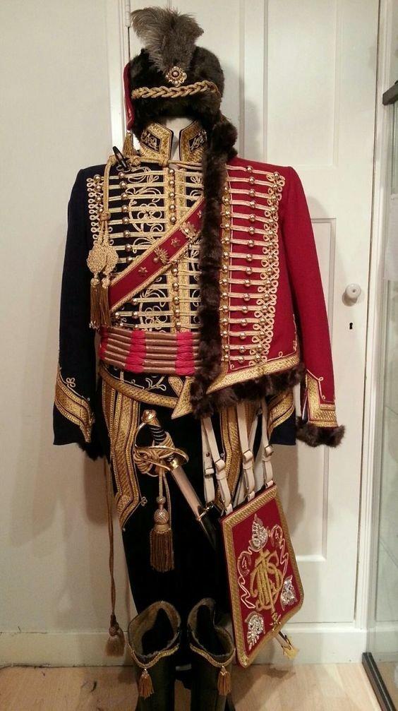 Прусские гусары, 19 век военное, история, красота, мундир