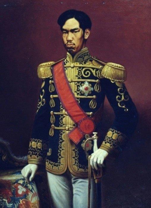 Император Мейдзи, Япония, в парадном мундире военное, история, красота, мундир