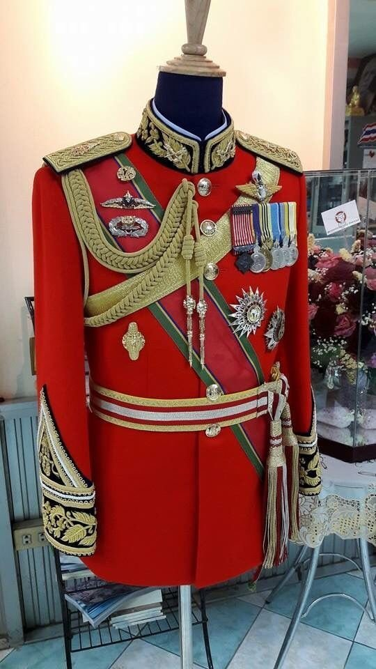 Королевская тайская армия, 20-21 век военное, история, красота, мундир