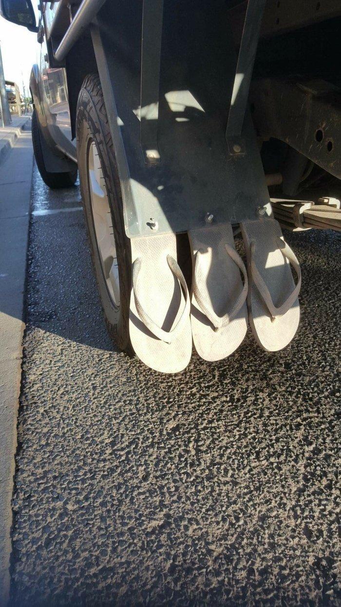 Австралийские инновации грузовик, грузовики, камаз, прикол, тягач, юмор
