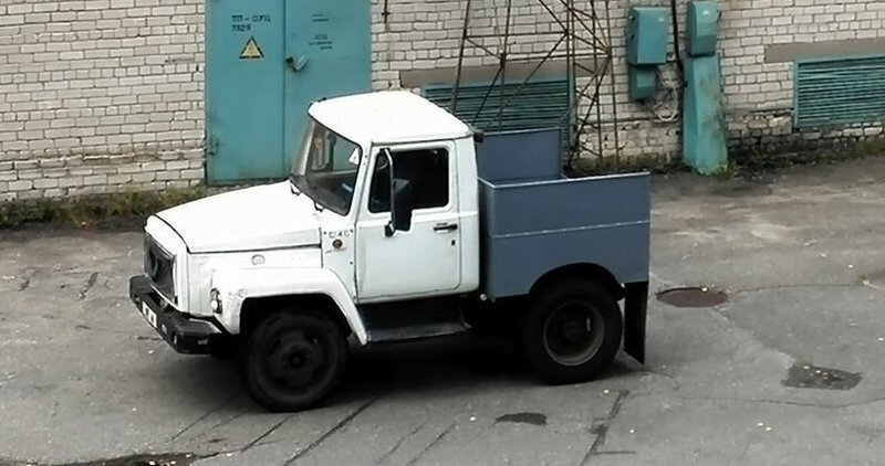 Интересно, зачем? грузовик, грузовики, камаз, прикол, тягач, юмор