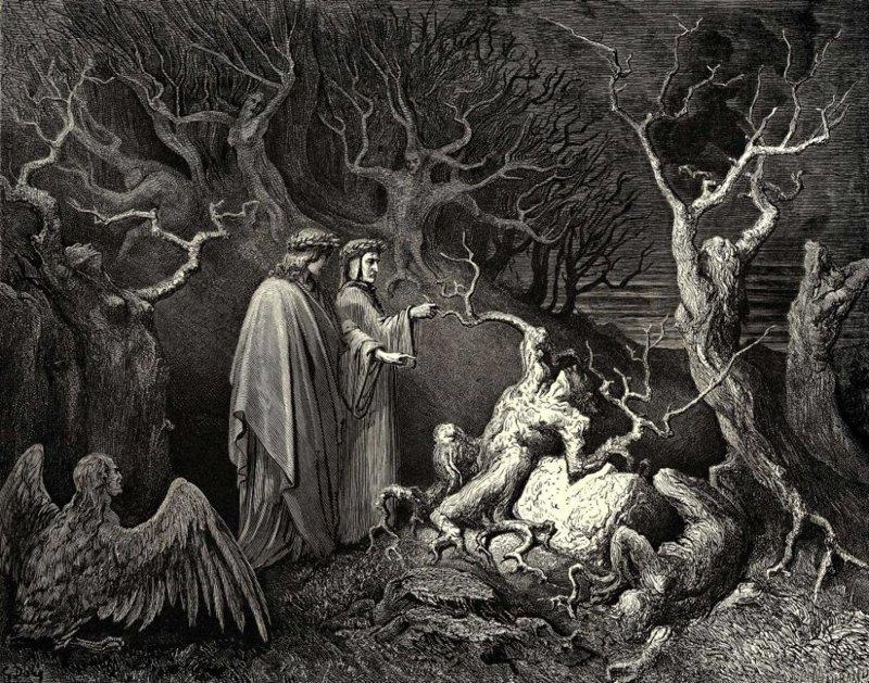 Круги ада интересное, религия, факты