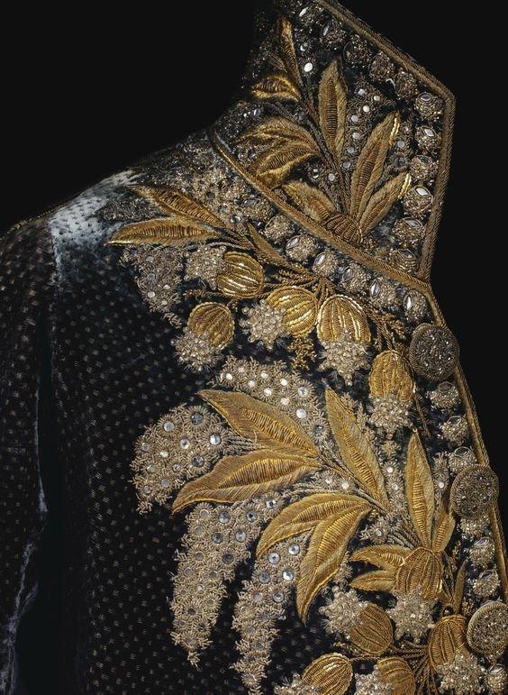 Мундир Наполеона вышивка, искусство. шитье, красота, старинные