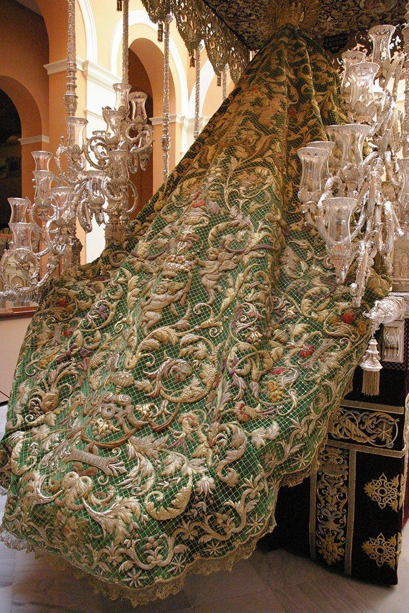 Сетчатая мантия, Испания, 1899 вышивка, искусство. шитье, красота, старинные