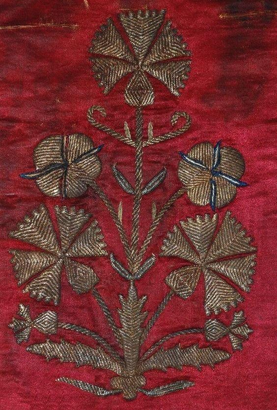 Вышивка по шелку, Турция, 19 век вышивка, искусство. шитье, красота, старинные
