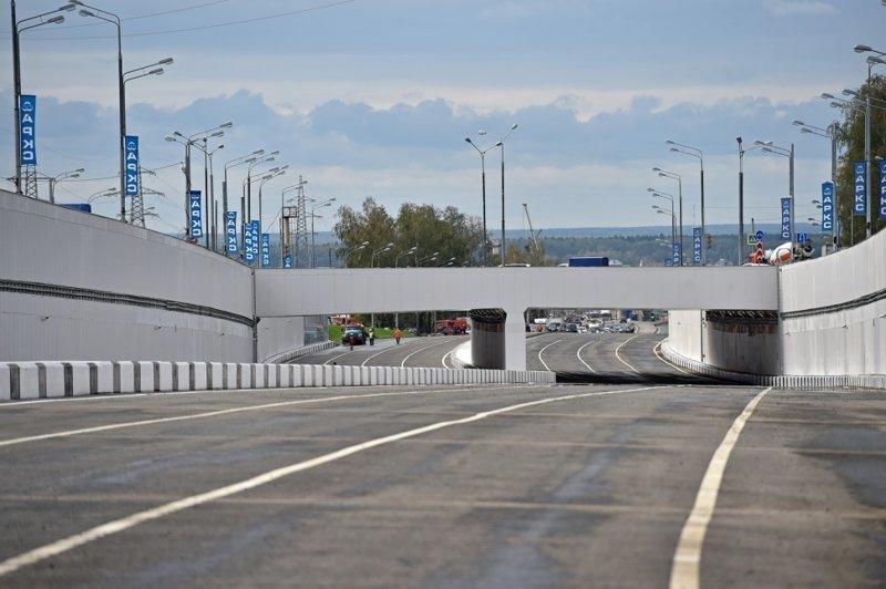 По окончании реконструкции Калужское шоссе будет соответствовать параметрам магистральной улицы общегородского значения первого класса Сергей Собянин, новости, стройка, тоннель, улучшения