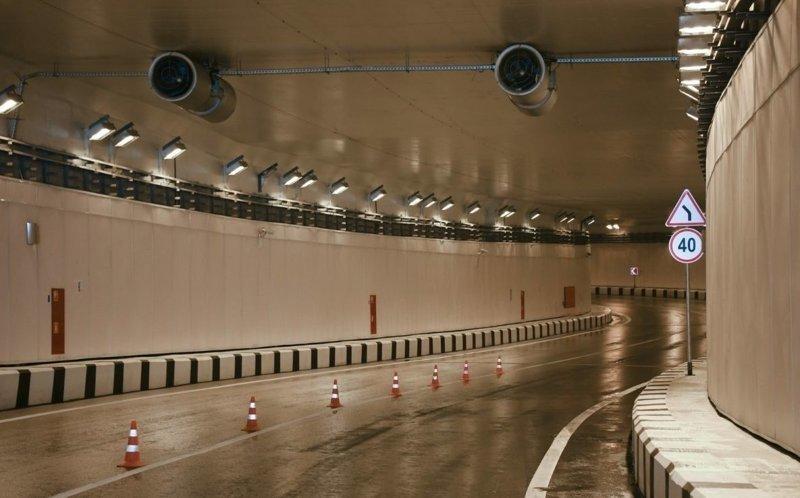 Разворотный тоннель и переход через Калужское шоссе - новое открытие С. Собянина Сергей Собянин, новости, стройка, тоннель, улучшения