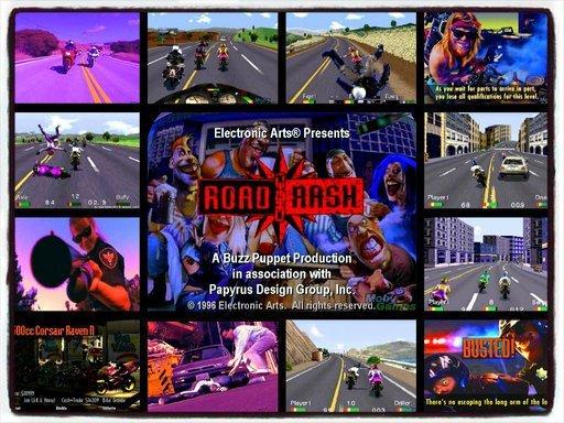 Road Rash 90 годы, panasonic, джойстик, игры, компьютер, приставка