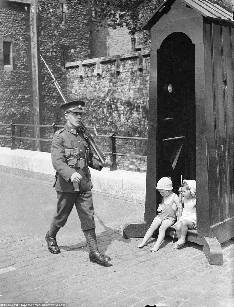 Как выглядела рекордная жара августа 1937-го в Лондоне великобритания, винтаж, история, лондон, люди, ретро, ретро фото, старые фотографии