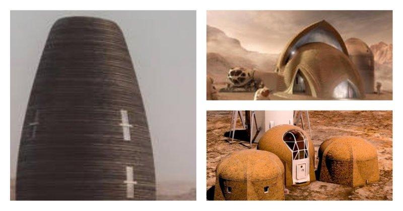 В каком доме будут жить астронавты на Марсе? НАСА опубликовало пять проектов космического жилья nasa, ynews, youtube, видео, космическое агентство, космос, марс, проекты домов