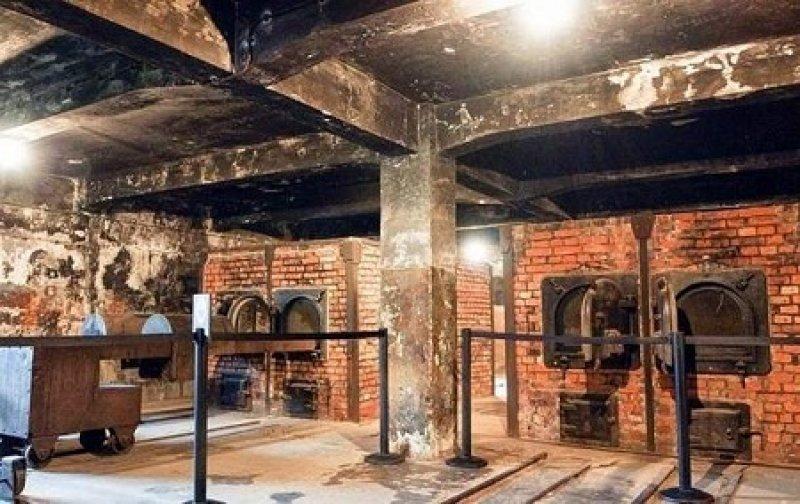 6. Два туриста пытались забрать кирпичи из Освенцима отдых, отпуск, русские туристы, туристы, фото