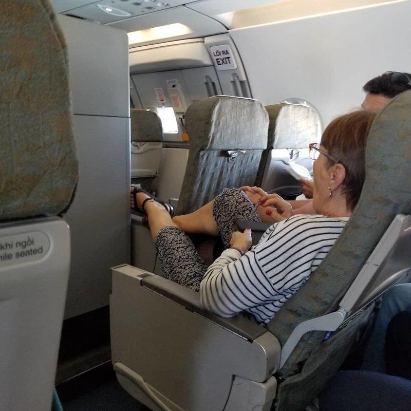 5. Во время длительного полета люди становятся собой, забывая об этикете отдых, отпуск, русские туристы, туристы, фото