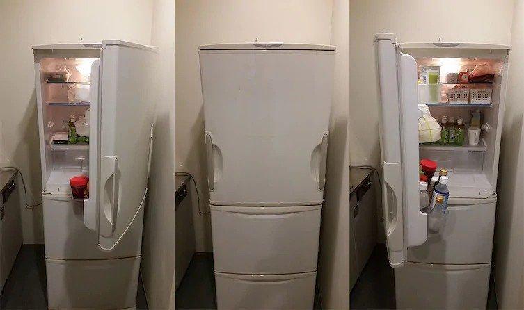 10. Двери, открывающиеся в оба направления гениально, задумки, идеи, трюки, фото