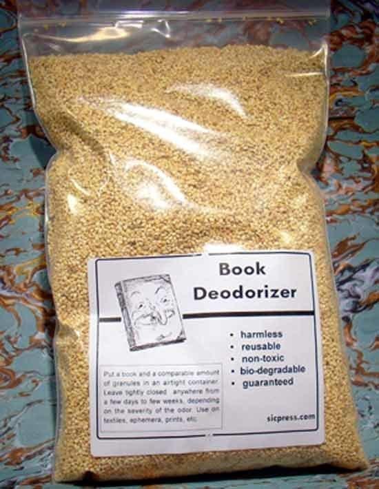 9. Многие любят запах новых книг, именно для них и придумали дезодорант для книг гениально, задумки, идеи, трюки, фото