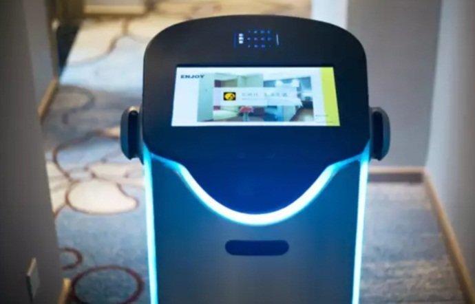 В Китае открылся первый в мире автоматизированный отель ynews, Автоматизированный отель, без персонала, китай, роботы
