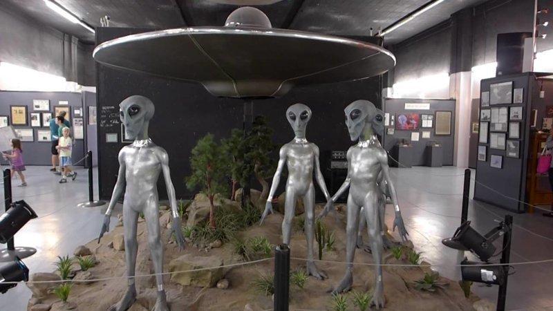 7. Международный музей и исследовательский центр НЛО, Розуэлл China, интересно, китай, музеи, туризм