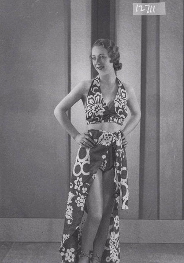Музей Лондона показал модные купальники 1930-х история, история моды, купальники, мода, мода на пляже, музей Лондона, товар массового спроса, фотохроника прошлого