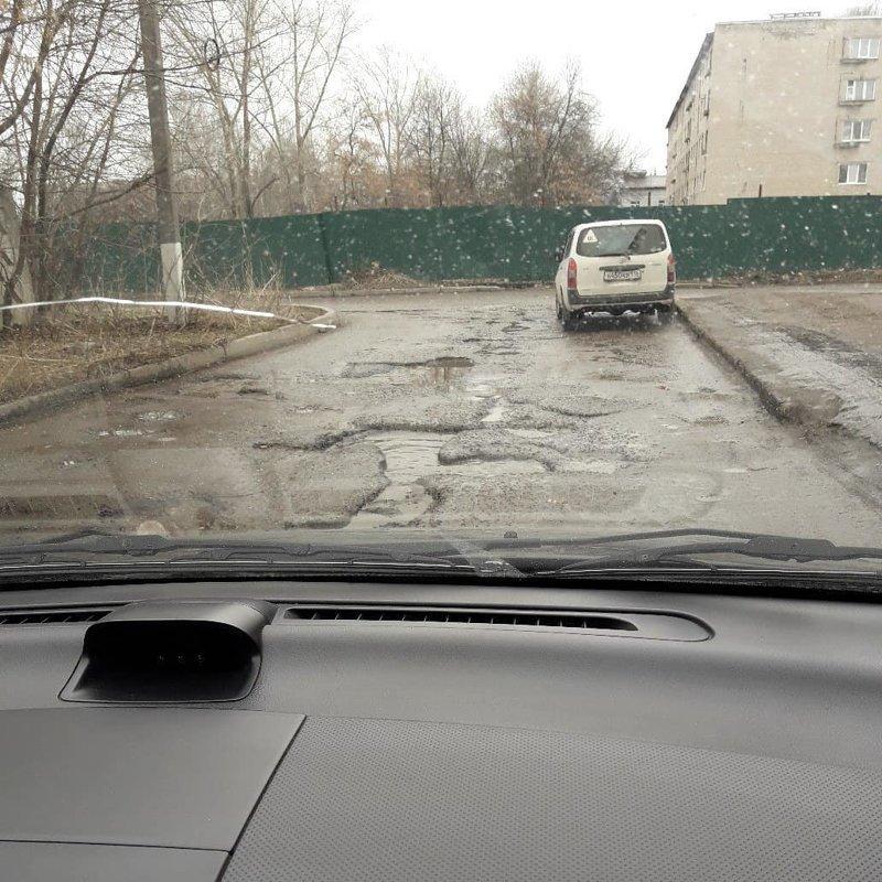 Так вот почему в России такие плохие дороги дороги, прикол, российские дороги, юмор, ямы