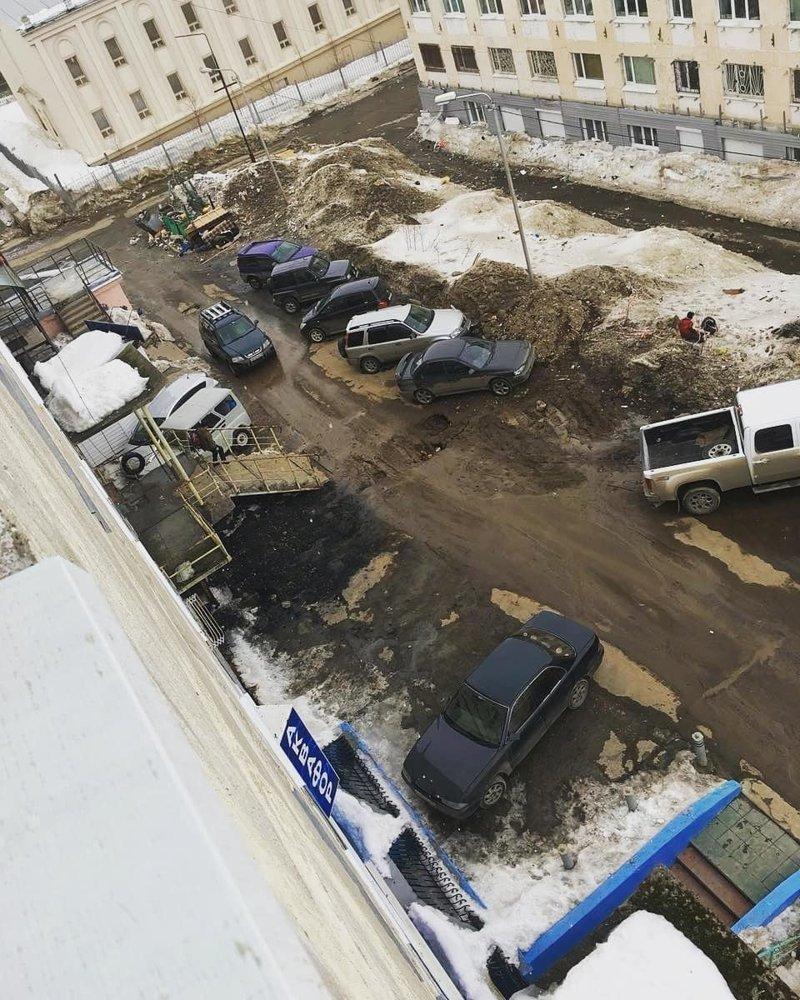 Так и получается, что асфальт в России — лишний дороги, прикол, российские дороги, юмор, ямы