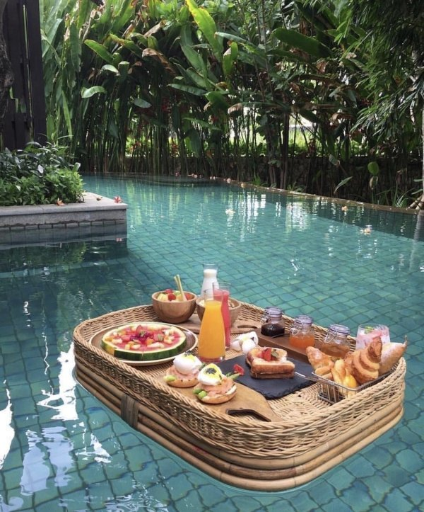 Завтрак на Бали день, животные, кадр, люди, мир, снимок, фото, фотоподборка