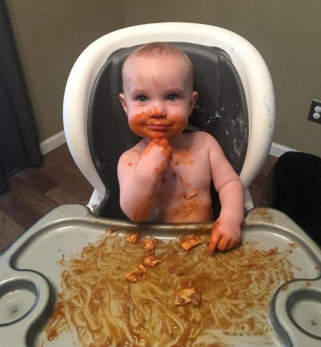 Я все съел, мам! день, животные, кадр, люди, мир, снимок, фото, фотоподборка