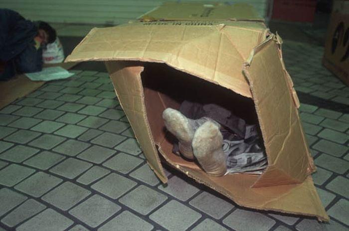 На случай ещё одного кризиса handmade, вещи из мусора, вторая жизнь, как это сделать, картон, картонная коробка, переделка