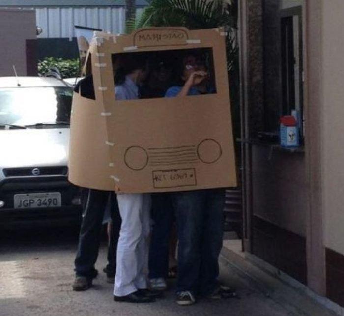 И — изобретательность handmade, вещи из мусора, вторая жизнь, как это сделать, картон, картонная коробка, переделка