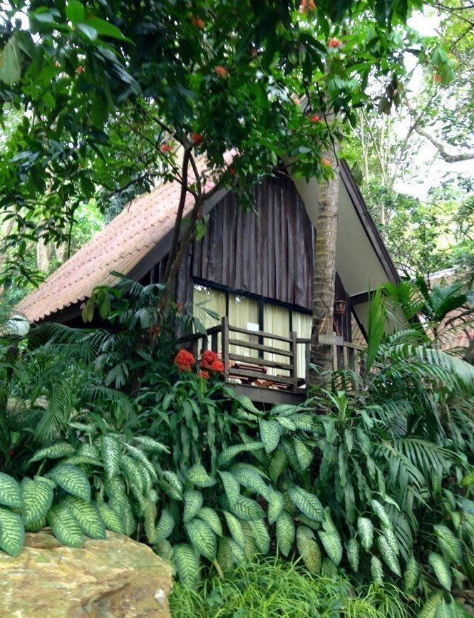 2. Бунгало на острове Ко-Чанг в Таиланде Красивые дома, Пляжный домик, бунгало, на море, отпуск, природа, у моря