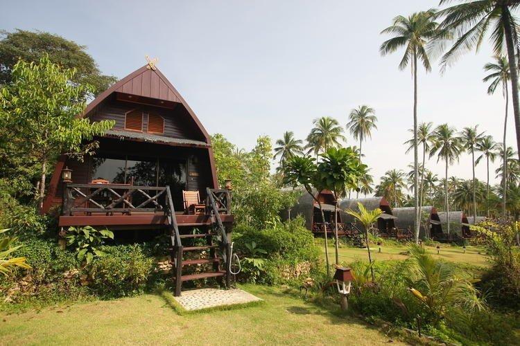 7. Koh Kood Beach Resort на Бали Красивые дома, Пляжный домик, бунгало, на море, отпуск, природа, у моря
