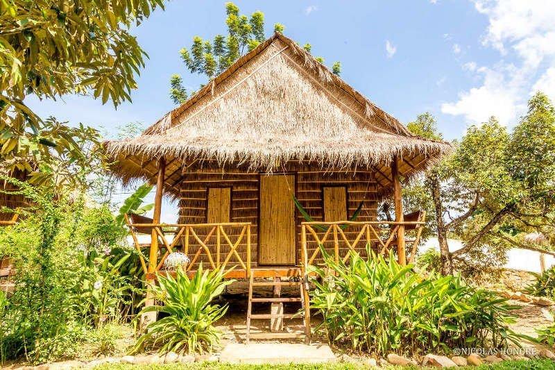 11. Красивые дома, Пляжный домик, бунгало, на море, отпуск, природа, у моря