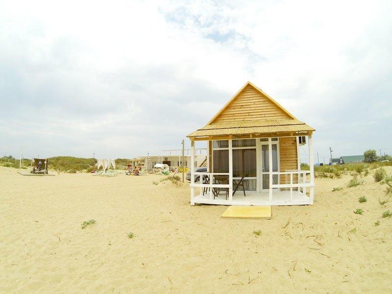 6. 4-х местное бунгало в Анапе Красивые дома, Пляжный домик, бунгало, на море, отпуск, природа, у моря