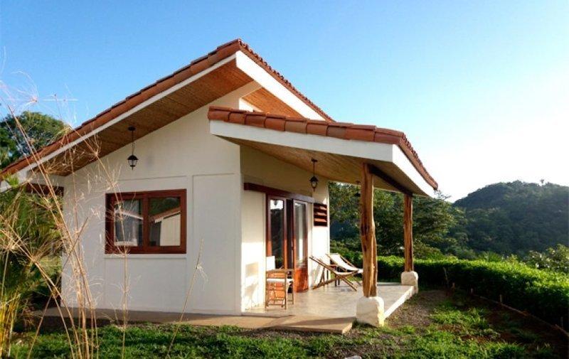 10. Красивые дома, Пляжный домик, бунгало, на море, отпуск, природа, у моря