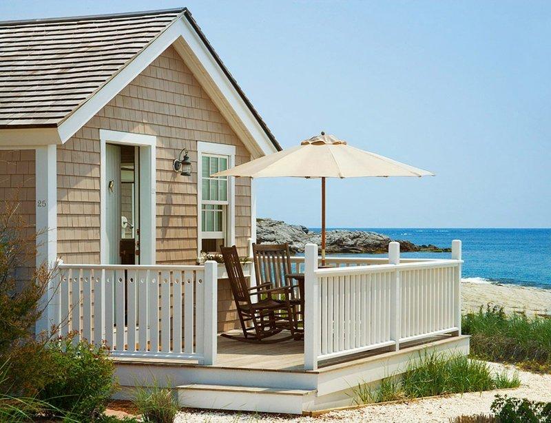16. Красивые дома, Пляжный домик, бунгало, на море, отпуск, природа, у моря