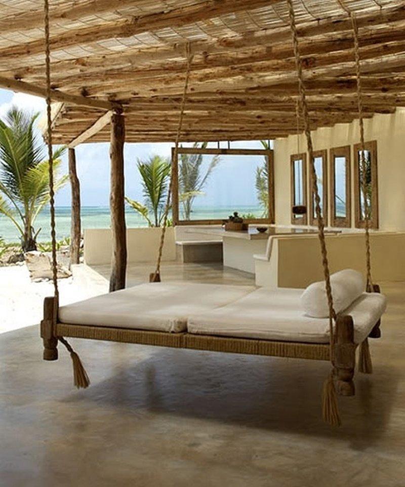 8. Красивые дома, Пляжный домик, бунгало, на море, отпуск, природа, у моря