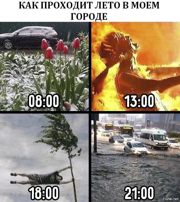 Прикольные картинки про погоду на урале