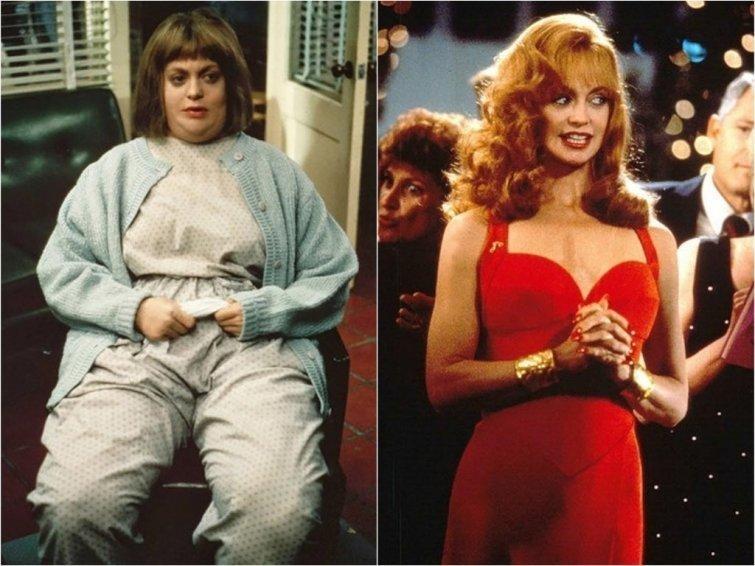 Голди Хоун актрисы, звезды, полнота, пышная женщина, толстушка, успех