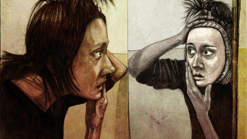 Вне себя (Деперсонализация) душевные заболевания, психиатрия, психология, сумасшествие