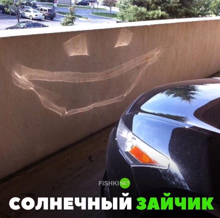 Солнечный зайчик авто, автомобили, автоприкол, автоприколы, подборка, прикол, приколы, юмор